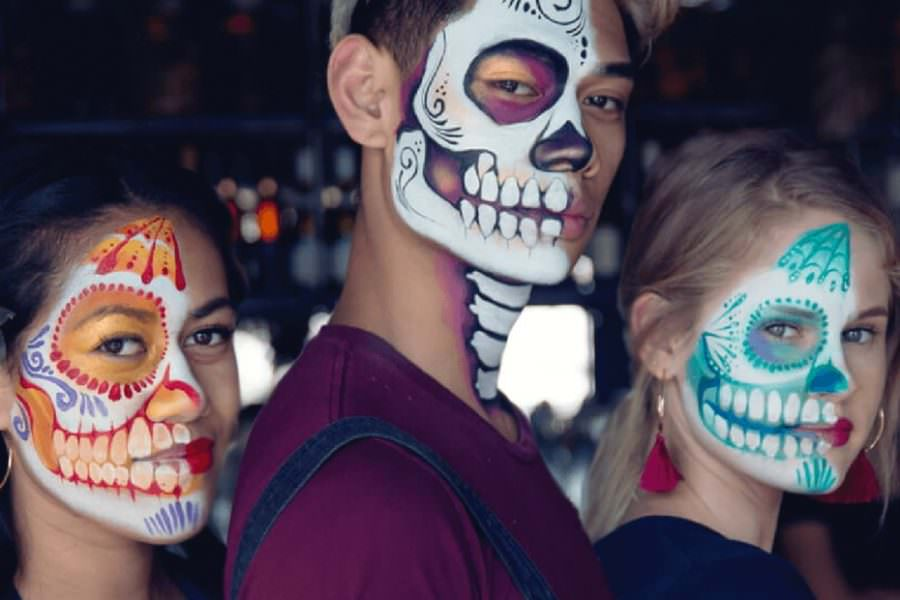Why Sugar Skull Makeup is Used to Celebrate the Day of the Dead