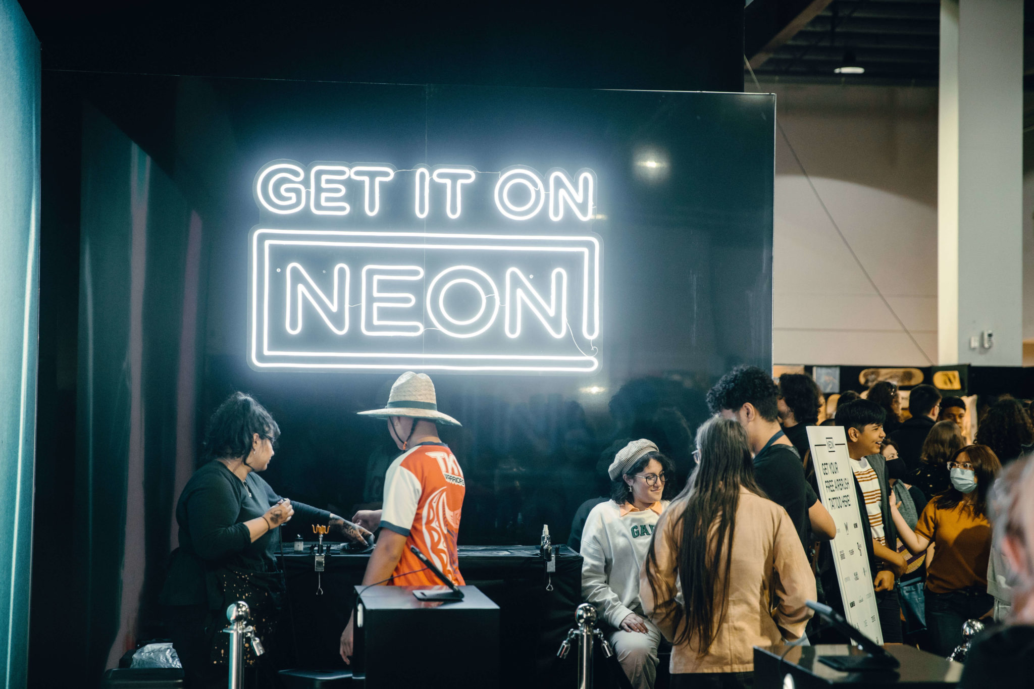 Auckland Armageddon 2020 – NEON Brand Activation X Type 40 Events | Airbrush Tattoos
