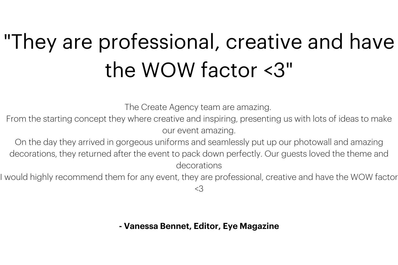 Vanessa Bennet Editor Eye Magazine